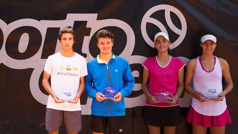 Fábio Coelho e Joana Baptista são os novos campeões do Porto Open Júnior 2018