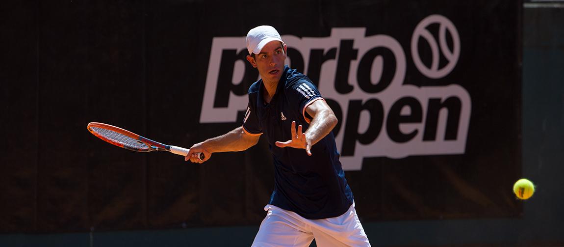 Nuno Borges segue em frente no Porto Open 2018