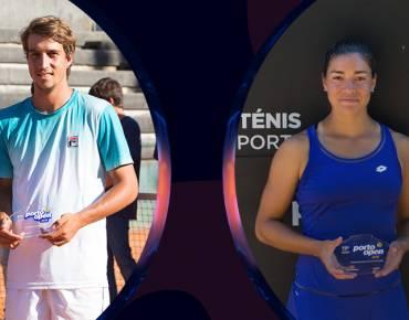 Duplas Orlando Luz/Felipe Meligeni e Gonzalez/Pigossi conquistam troféus de pares