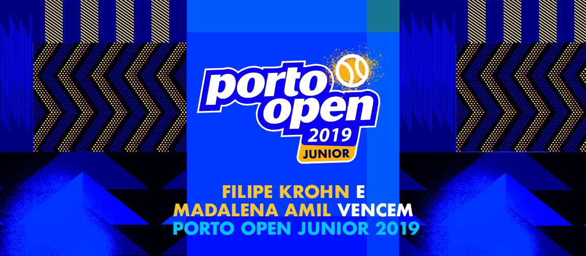Filipe Krohn e Madalena Amil vencem Porto Open Junior 2019