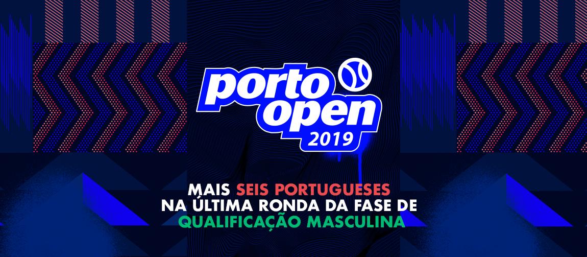 Mais seis portugueses na última ronda da fase de qualificação masculina