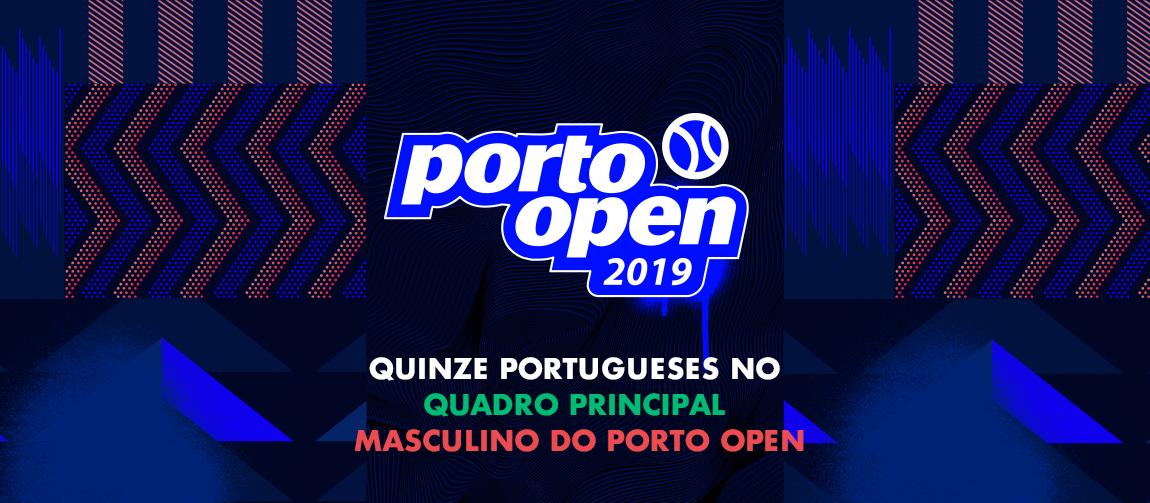 Quinze portugueses no quadro principal masculino do Porto Open