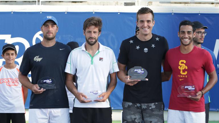 Gonçalo Falcão e Francisco Dias vice-campeões da variante de pares