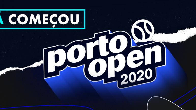 Porto Open 2020 já começou!