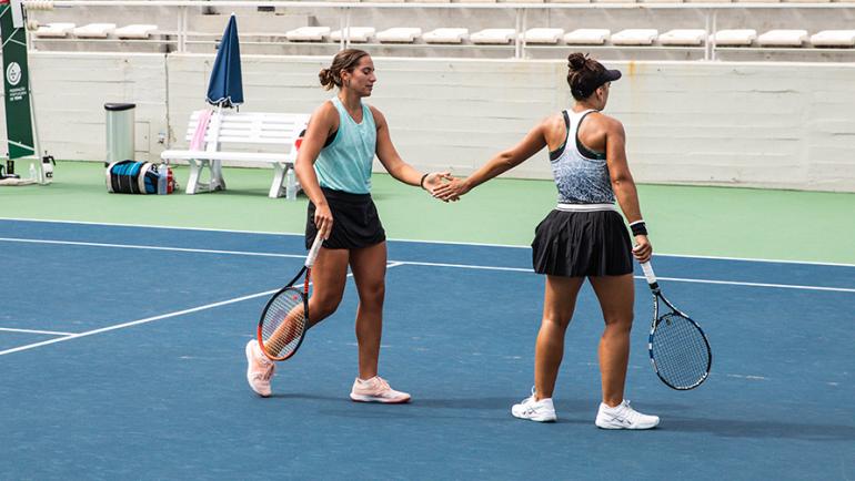 Inês Murta e Francisca Jorge entram a vencer na variante de pares do Porto Open