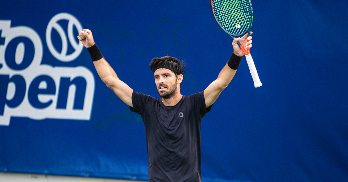 Gastão Elias vence Nuno Borges na final do Porto Open 2020