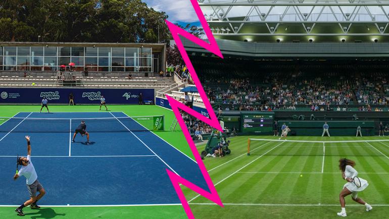 Uma semana só com dois torneios ATP: Wimbledon e Porto Open
